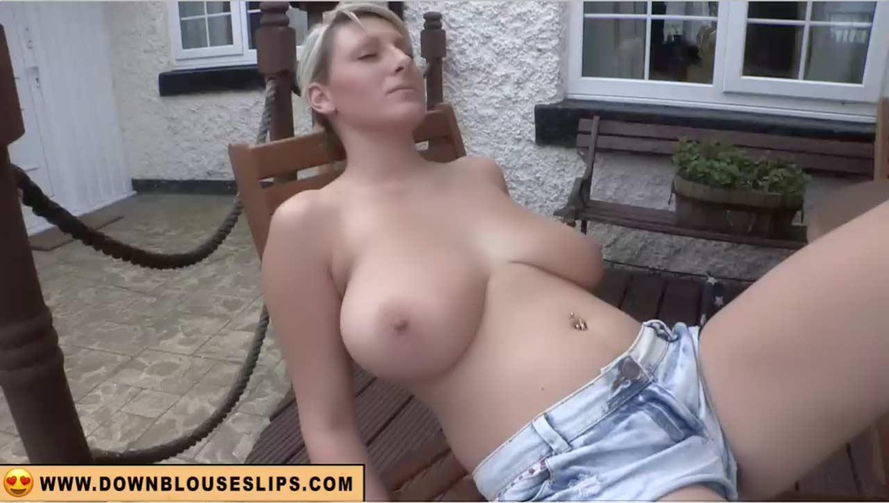 Skinny blonde wife hardcore home video
